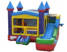 5 in 1 COMBO BOUNCE & SLIDE $435 DISCOUNTED PRICE $349 + FREE DELIVERY